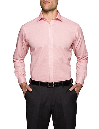 MICRO CHECK EURO FIT SHIRT