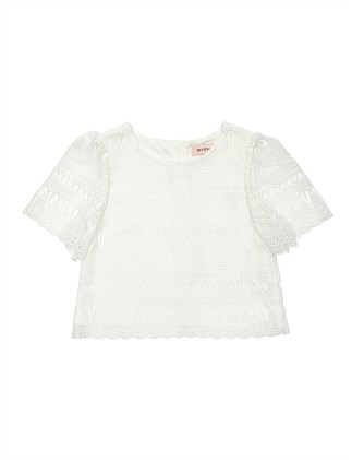 Lace Top (Girls 8-14 Years)