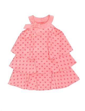 Heart Dress (Girls 3-7 Years)