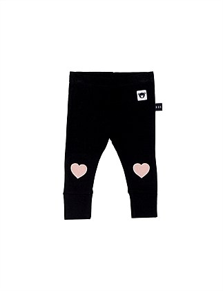 Heart Applique Skinny Legging