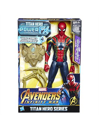 AVN 12IN TITAN HERO POWER FX SPIDERMAN