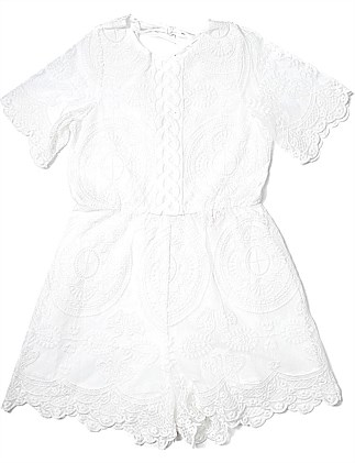 Gardenia Lace Romper (Girls 3-7 Years)