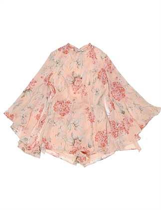Petal Floral Romper (Girls 3-7 Years)