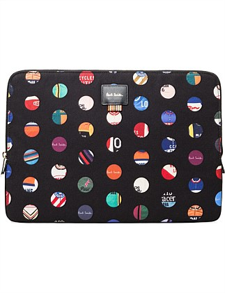 CYCLE JERSEY DOT LAPTOP CASE 13 INCH
