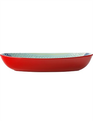 MW Laguna Oval Serving Bowl 42x26cm Gift Boxed