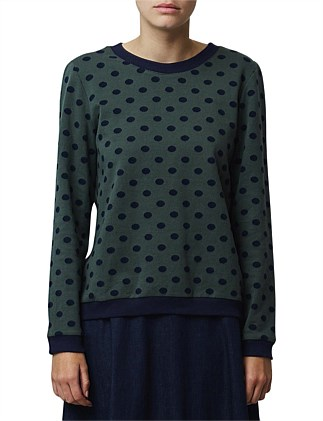 Dotty sweatshirt
