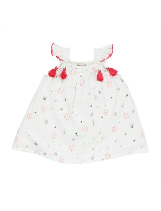 Tweet Slvless Dress W Tassels (Girls 3-7 Years)
