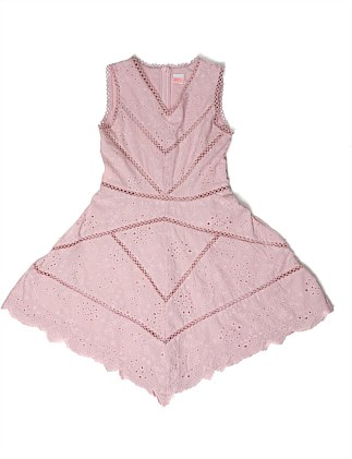 Azalea Cotton Dress (Girls 8-14 Years)