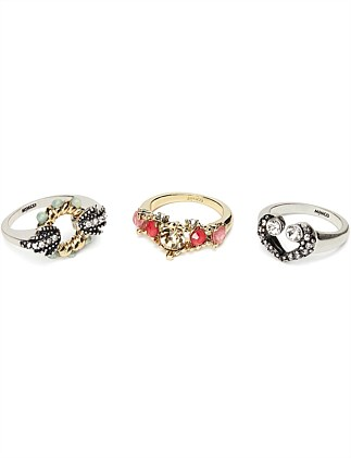 ACID DREAM RING SET