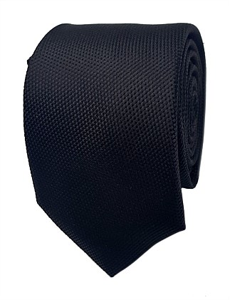 PLAIN SILK FORMAL TIE