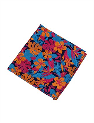 TROPICAL POCKET SQUARE