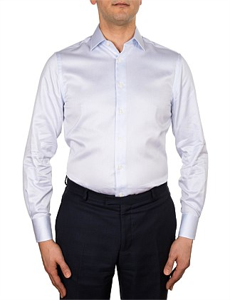 MICRO CHECK SLIM FIT SHIRT - MB