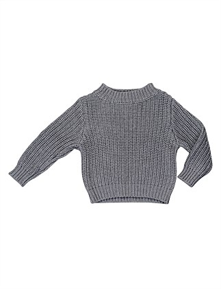 f73b403997a7 Chunky Knit Jumper (Boys 3-7 Years)