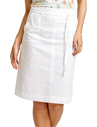HAMILTON EMBROIDERED SKIRT