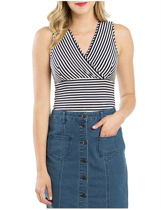 Mariner Stripe Top
