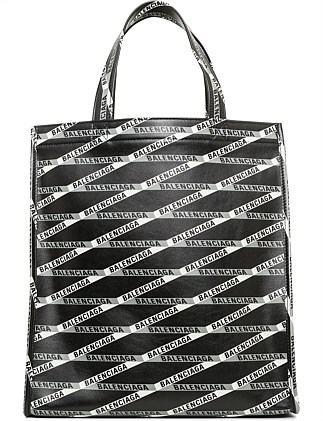 a357fcdf8044 RIBBON LOGO SMALL MARKET SHOPPER. Balenciaga
