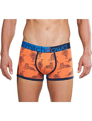 EASY TIGER CONTRAST PRINTED TRUNK