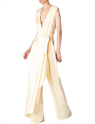 BUTTER CREPE EUROPA JUMPSUIT