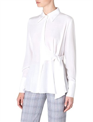 CREAM SILK CDC SONNET SHIRT