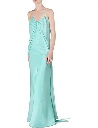 MINT SILK APHRODITE GOWN