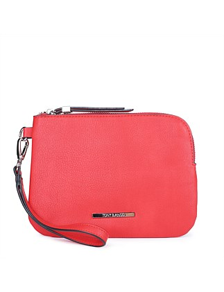 DELSON POUCH WITH WRISTLET