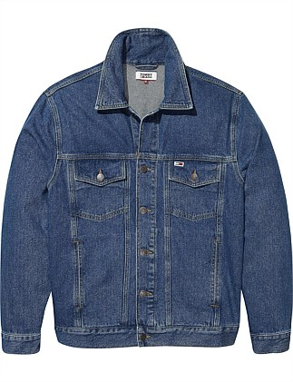 Tommy Classics Oversized Denim Jacket