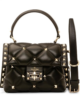 b2df19493809 CANDY STUD MINI SINGLE HANDLE LEATHER BAG
