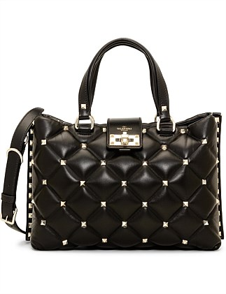 69114e7dc9 CANDY STUD SHOPPER DOUBLE HANDLE BAG