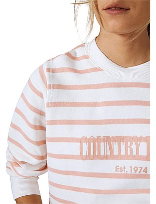 Striped Heritage Sweat