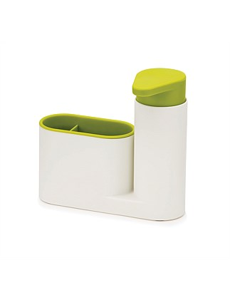 JOSEPH JOSEPH SINK BASE SINK TIDY SET - WHITE/GREEN