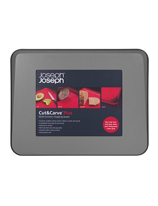JOSEPH JOSEPH CUT AND CARVE PLUS - GREY
