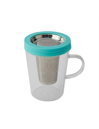 FMAS Glass mug with filter
