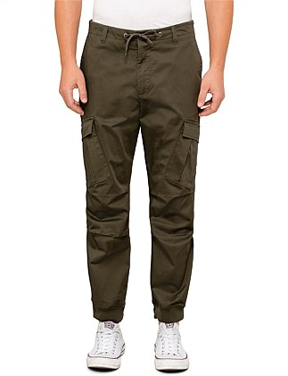 Cropped Tapered Modern Cargo Pant