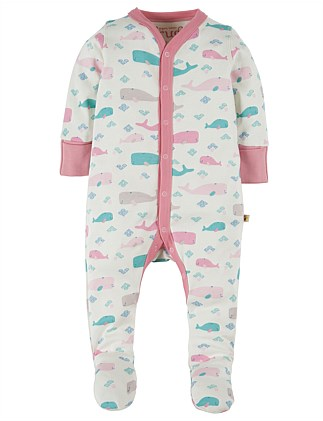 Little Whale Darling Babygrow(0-24Months)
