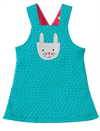 Rio Reversible Holibob Bunny Dress(0-24Months)