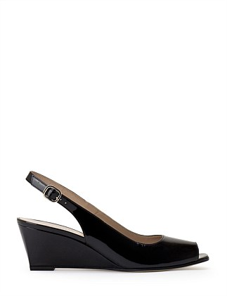 ARCHON SLINGBACK WEDGE