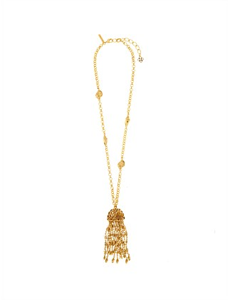 SHELL TASSLE NECKLACE