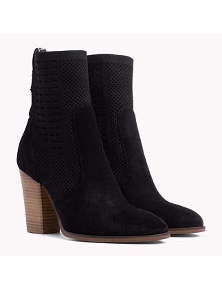 Tommy Knit Heeled Boot