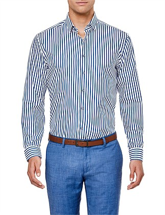 Rand Slim Fit Striped Shirt