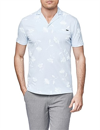 Shrewbury Print Polo Shirt
