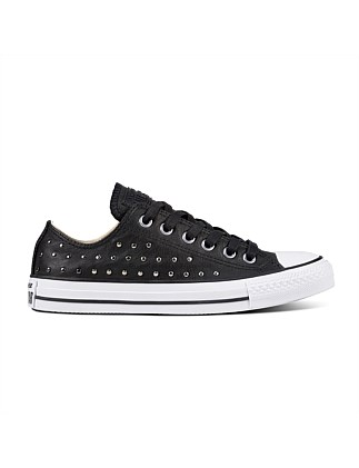 6c52454c0d45 Chuck Taylor All Star Leather Stud - Ox Sneaker On Sale. Converse