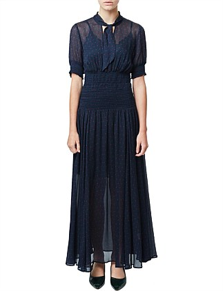 June Long Sleeve Maxi Dress