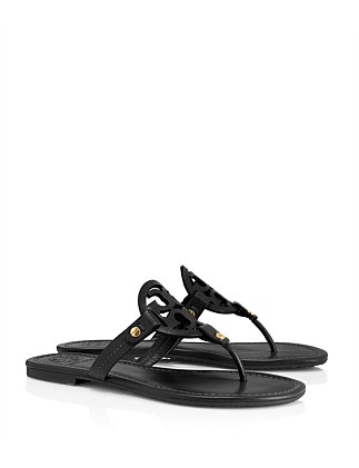 Miller Logo Sandal Calf Leather