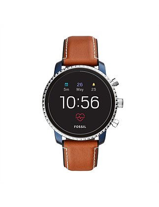 Q Explorist Brown Smartwatch
