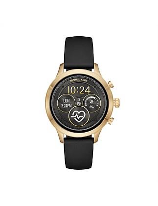 8dbb4a66dd25 Runway Black Smartwatch. Michael Kors