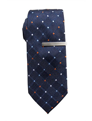TIE & TIE BAR SET (MULTI SPOT)