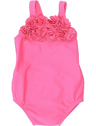 Hailey Swimsuit With Flowers(6-24Months)