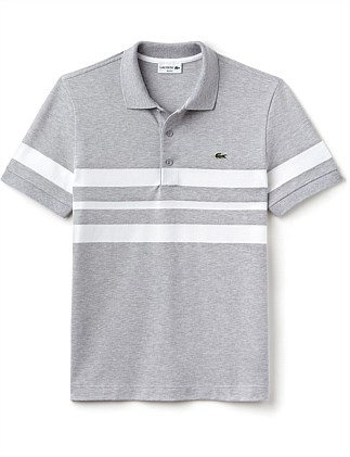 Slim Fit Triple Stripe Polo Special Offer