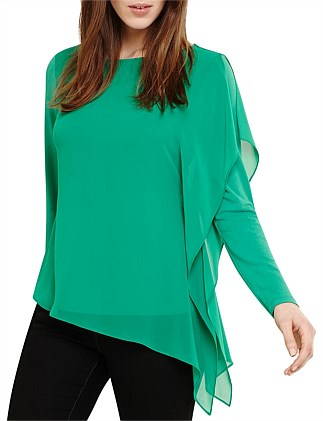 CAMILLE CHIFFON LAYER TOP