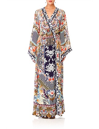 The Lonely Wild Kimono Wrap Dress